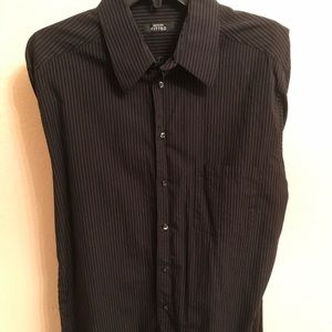 Fitted Alfani dress shirt/button down